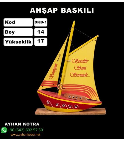 Yelken Baskı Maketi Kod DKB-1 Ebat:14x17