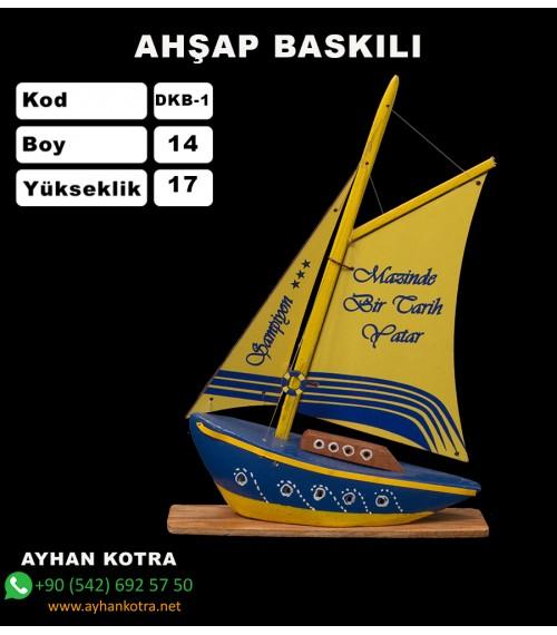 Yelken Baskı Modelleri Kod DKB-1 Ebat;14x17