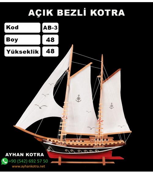 Açık Bezli Yat Modelleri Kod AB3 Ebat 48X48