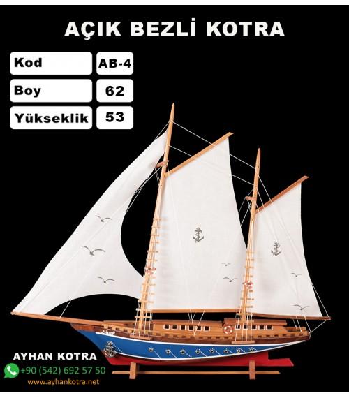 Açık Bezli Yat Modelleri Kod AB4 Ebat 61X55