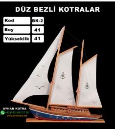 Düz Bezli Kotralar Kod BK2 Ebat 41x41