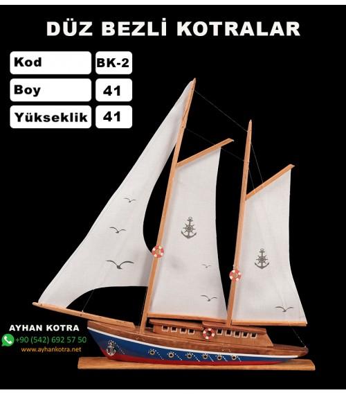 Düz Bezli Kotralar Kod BK2 Ebat 56X48