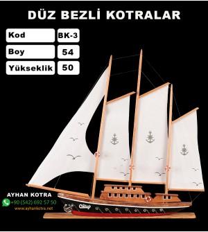 Düz Bezli Kotralar Kod BK3 Ebat 54X50