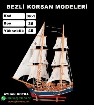 Bezli Korsan Modelleri Kod BR1 Ebat 38X49