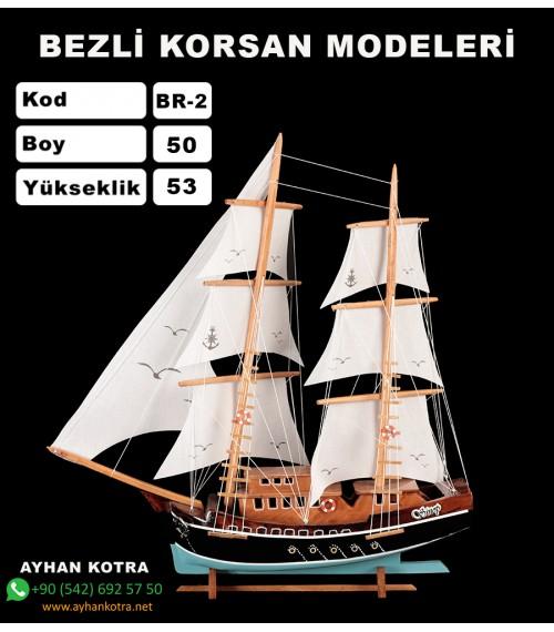 Bezli Korsan Modelleri Kod BR2 Ebat 49X56