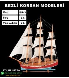 Bezli Korsan Modelleri Kod BR3 Ebat 64X74