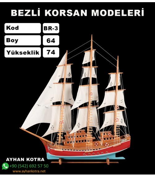 Bezli Korsan Modelleri Kod BR3 Ebat 58X72