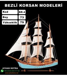 Bezli Korsan Modeller Kod BR4 Ebat 73X79