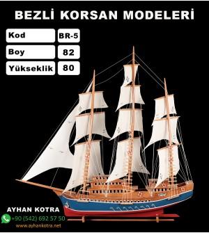 Bezli Korsan Modelleri Kod BR5 ebat  82X80
