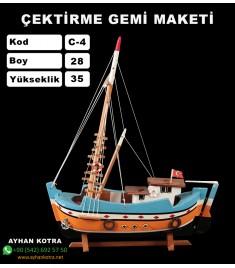 Karadeniz Çektirme Maketi Kod C4 Ebatları28X35