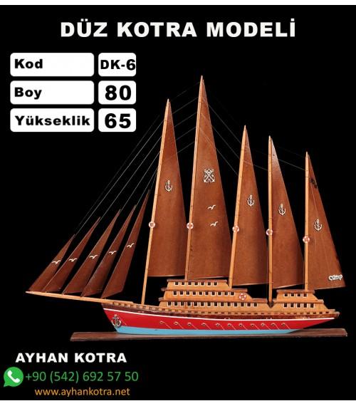 Düz Kotra Maketleri Kod DK6 Ebat 86X63