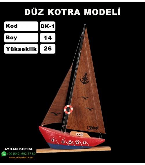 Düz Kotra Maketleri Kod DK1 Ebat 14X26