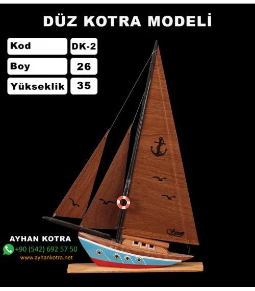 Düz Kotra Maketleri Kod DK2 Ebat 25X35