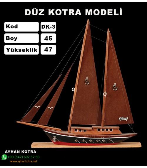 Düz Kotra Maketleri Kod DK3 Ebat 40X44