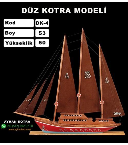 Düz Kotra Maketleri Kod DK4 Ebat 54X52