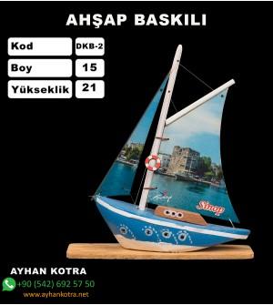Yelken Baskı Modelleri Kod DKB-2 Ebat 15x21