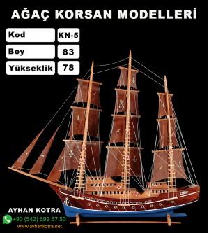 Ağaç Korsan Modelleri Kod KN5 Ebat 83X78