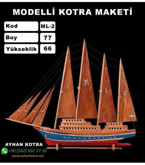 Modelli Kotra Maketi Kod ML2 Ebat 72X66