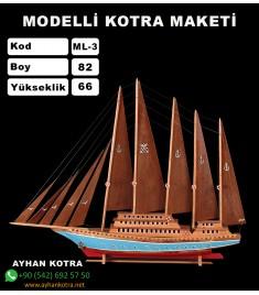 Modelli Kotra Maketi Kod ML3 Ebat 82X66