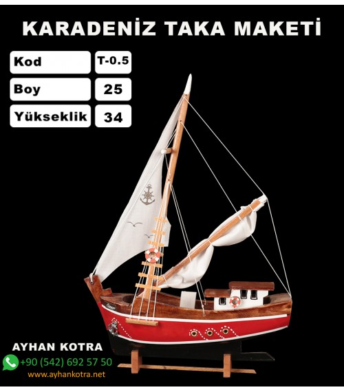 Karadeniz Taka Maketi Kod T0.5 ebat 25X34