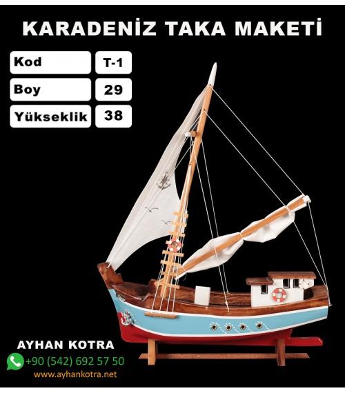 Karadeniz Taka Maketi Kod T1 Ebat 28X40