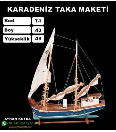Karadeniz Taka Maketi Kod T3 Ebat 40X49
