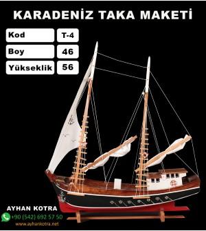 Karadeniz Taka Maketleri Kod T4 Ebat 46X56