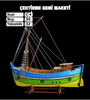 Karadeniz Çektirme Maketi Kod C4 Ebatları30X32
