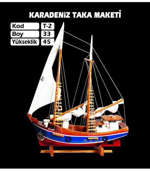 Karadeniz Taka Maketi Kod T2 Ebat 33X45