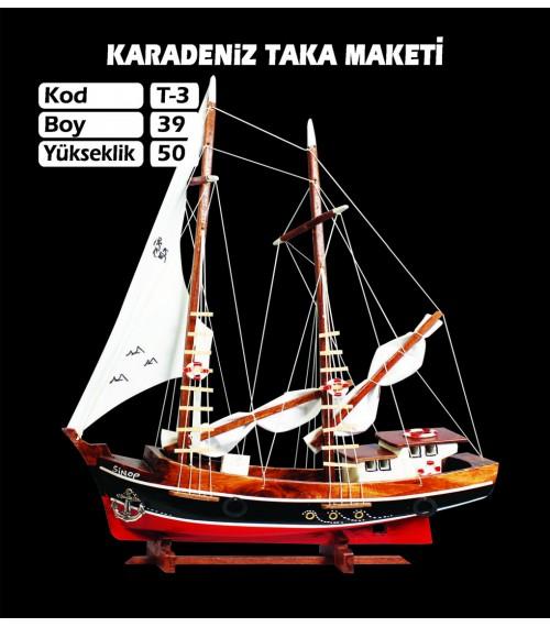Karadeniz Taka Maketi Kod T3 Ebat 39X50
