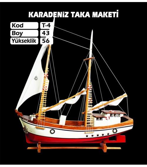 Karadeniz Taka Maketleri Kod T4 Ebat 43X56