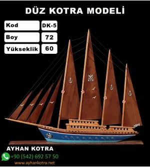 Düz Kotra Maketleri Kod DK5 Ebat 72X60