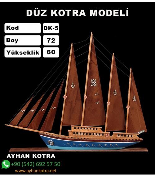 Düz Kotra Maketleri Kod DK5 Ebat 67X60