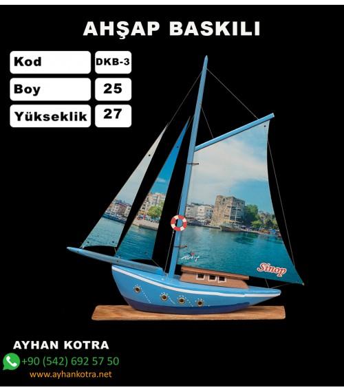 Yelken Baskı Maketleri Kod DKB-3 Ebat:25x27