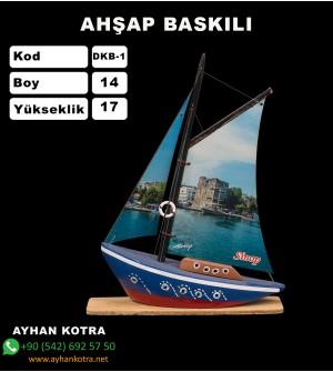 Yelken Baskı Modelleri Kod DKB-1 Ebat 14x17