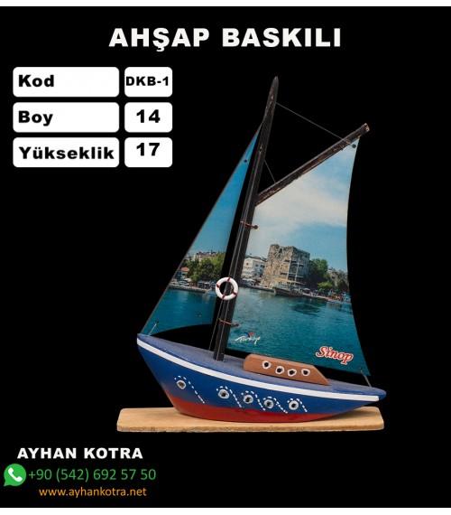 Yelken Baskı Maketleri Kod DKB-1 Ebat:14x17